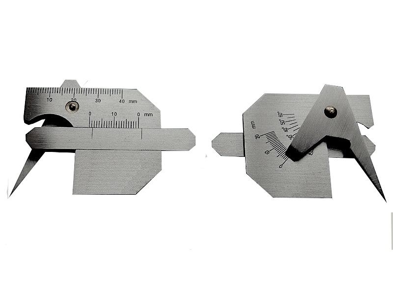 Bridge CAM Gauge Undercut Welding Gage Weld Fillet Pits//misalignment Inspection Tool Mini Taper Full Metric